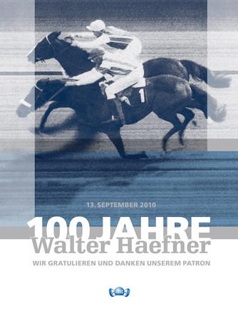 Jubiläumsmagazin 100 Jahre Walter Haefner