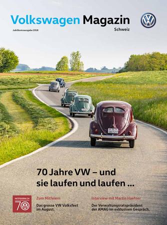 Sonderausgabe 70 Jahre VW