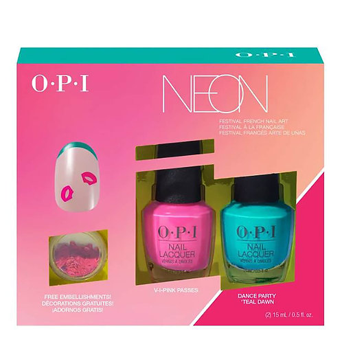 Pack  OPI - Neon x 2 Nail Laquer 15ml