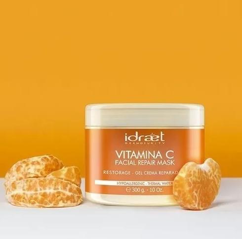 Idraet -  Mascara Reparadora Revitalizante Vitamina C Nutritiv
