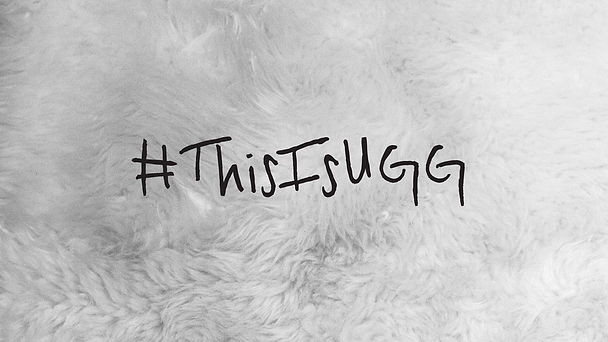 #thisisugg hashtag photo
