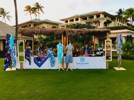 tori burch display in hawaii