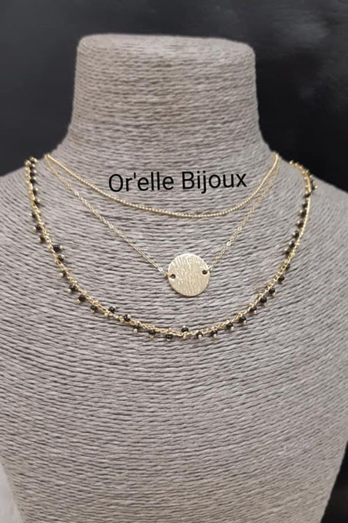 COLLIER CHAINE 3 RANDS