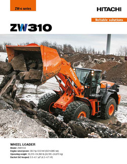 Hitachi ZW310-6 Wheel Loader