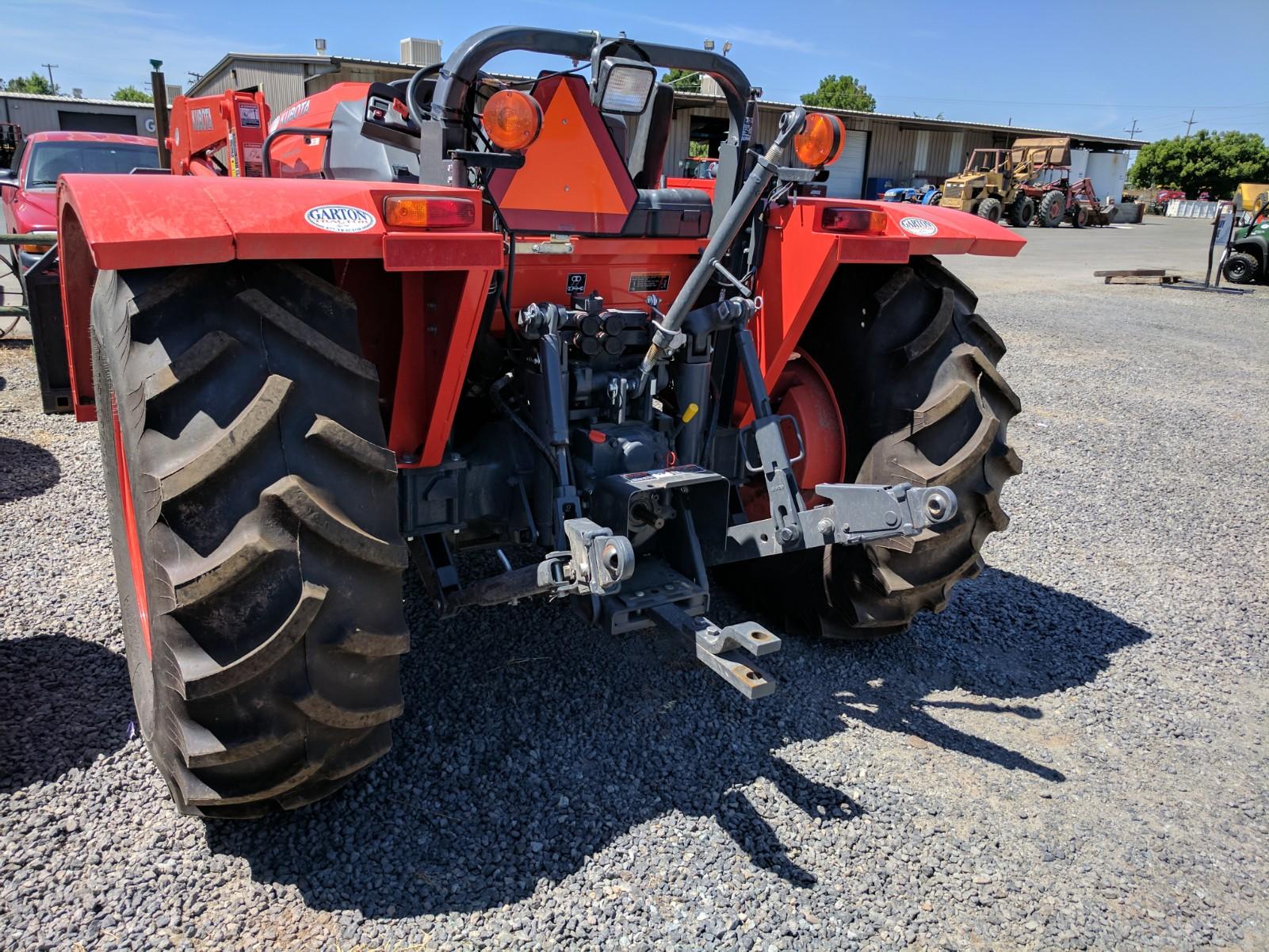 Low Profile Tractor : Kubota m l low profile tractor tire options garton