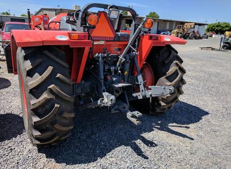 Kubota M5L-111 Low Profile Tractor Tire Options