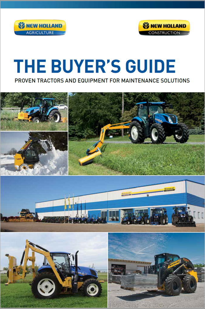 New Holland Maintenance Solutions - Buyers Guide for Proven
