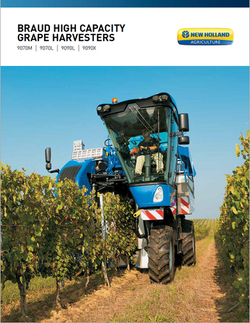 Braud High Capacity Grape Harvester