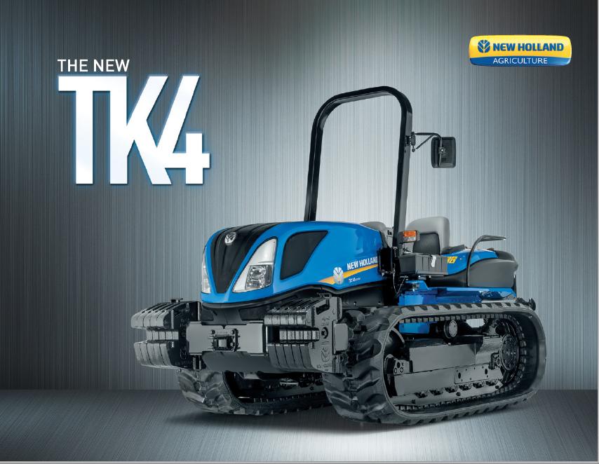 TK4 Crawler Tractor