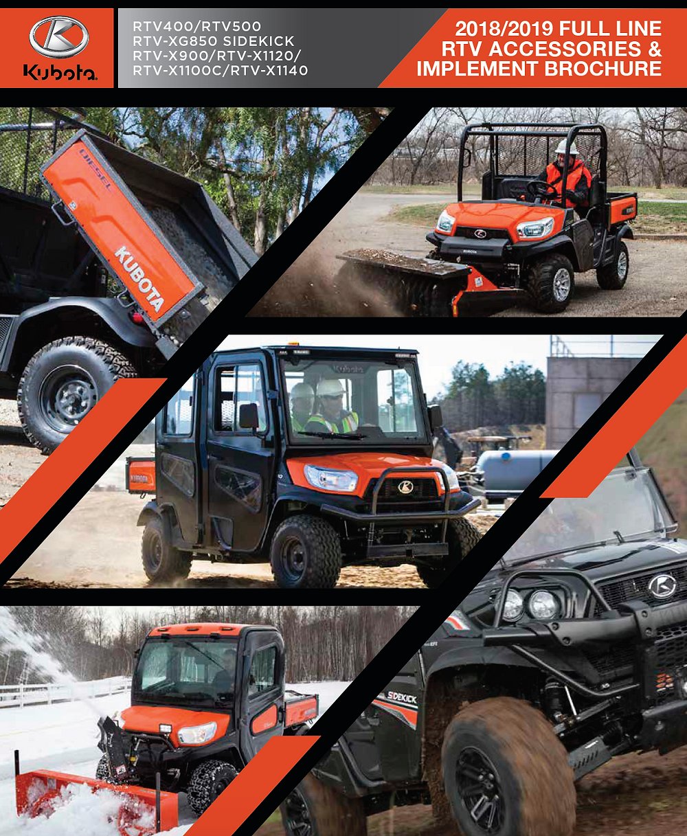 Kubota RTV Accessories Guide