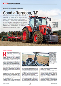 Kubota M7 Review
