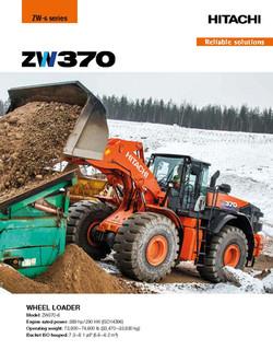 Hitachi ZW370-6 Wheel Loader