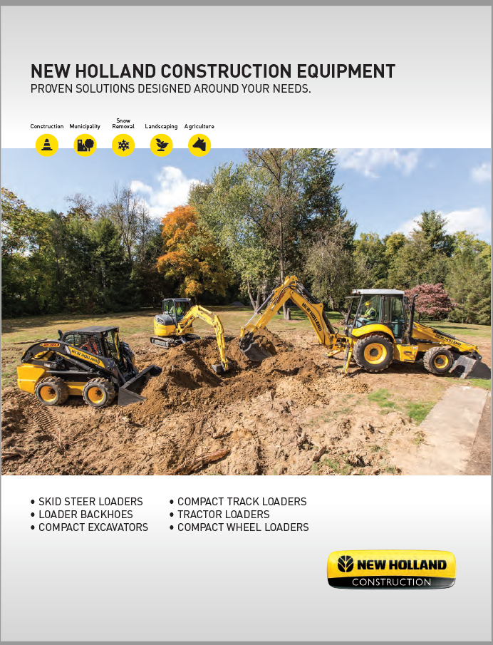 New Holland CE Brochure
