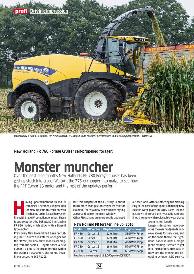 Monster Muncher Review - New Holland FR Forage Harvester