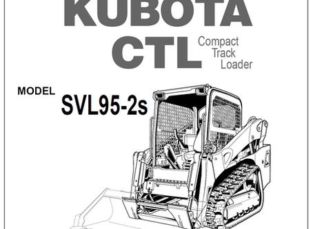 Kubota SVL95-2S Operator's Manual