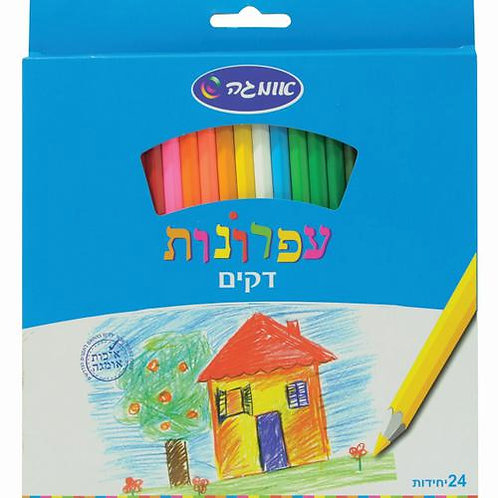 עפרונות צבעוניים דקים אומגה