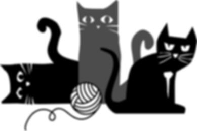 Three pawsome kitties