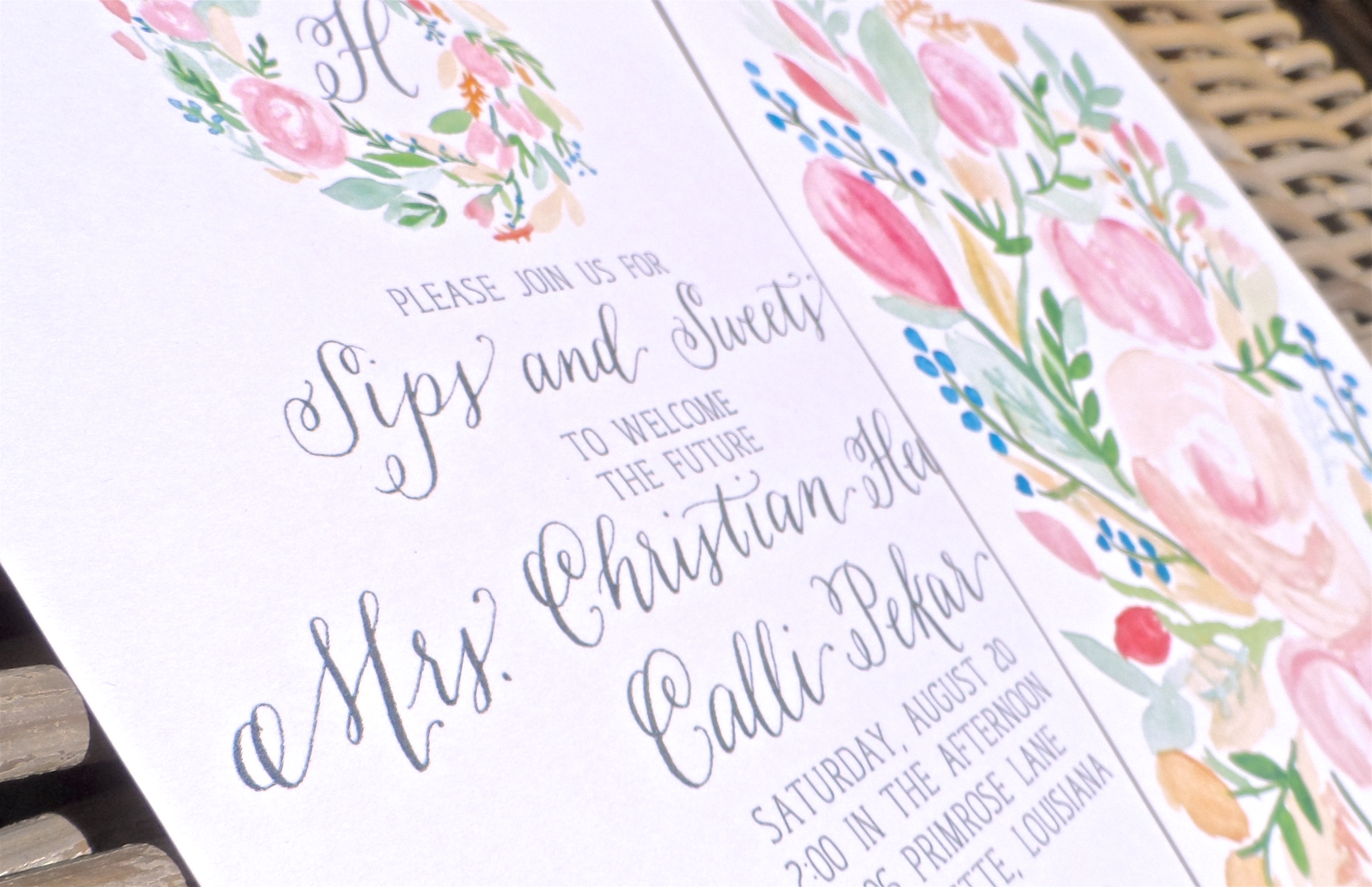 Mary Catherine Calligraphy & Design