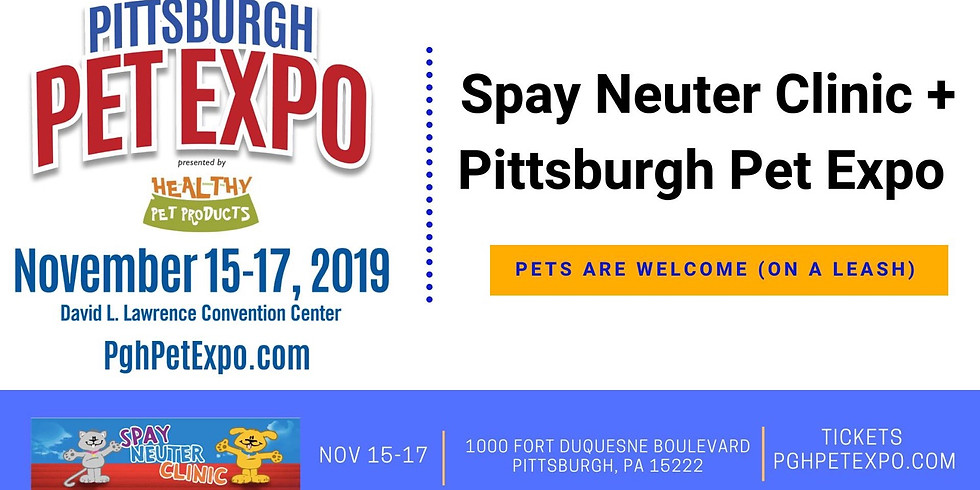Pittsburgh Pet Expo (DOG FRIENDLY)