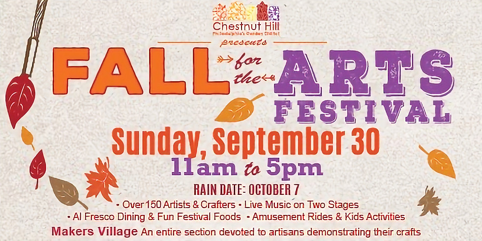 Chestnut Hill Fall For The Arts Festival