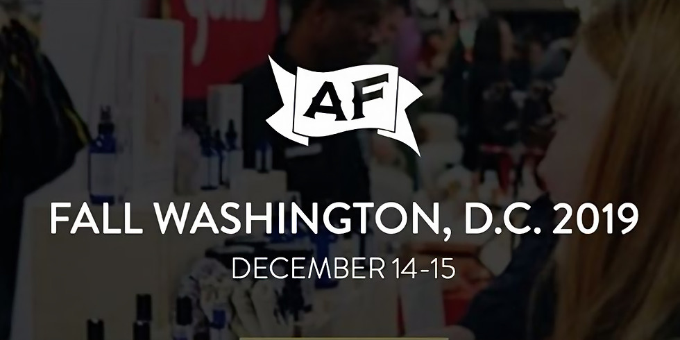 DC AF - Meet Your Maker(s), Holiday Pop Up Shopping (DOG FRIENDLY)