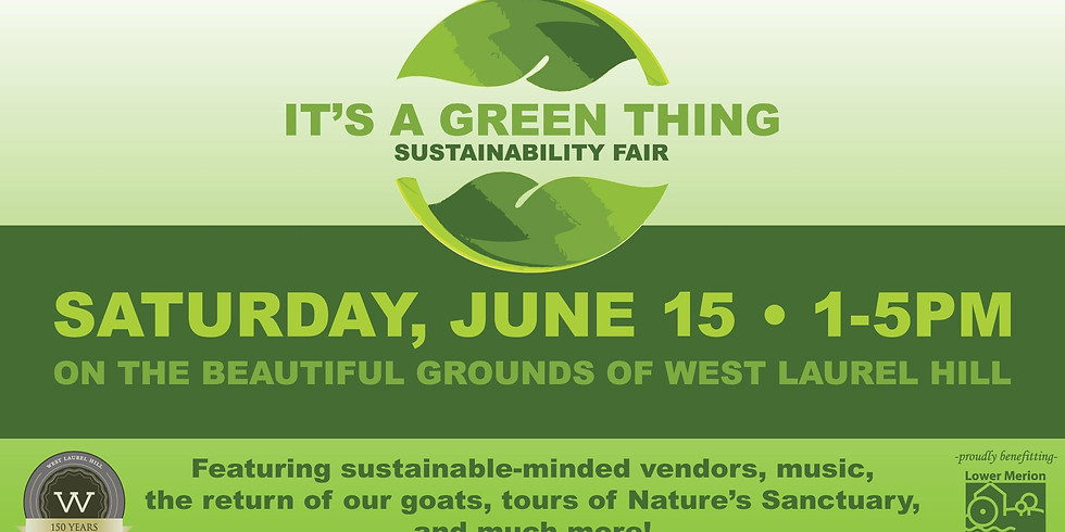 It's A Green Thing Sustainability Fair (DOG FRIENDLY!)