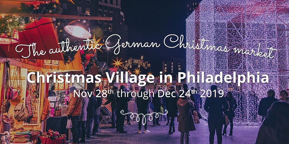 Christmas Village in Philadelphia (DOG FRIENDLY)