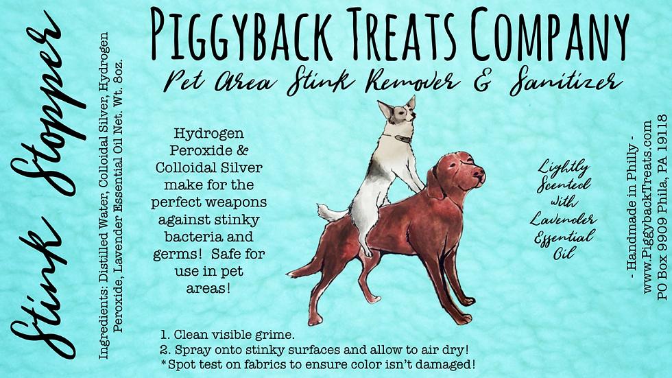 Stink Stopper Pet Area Stink Remover & Sanitizer