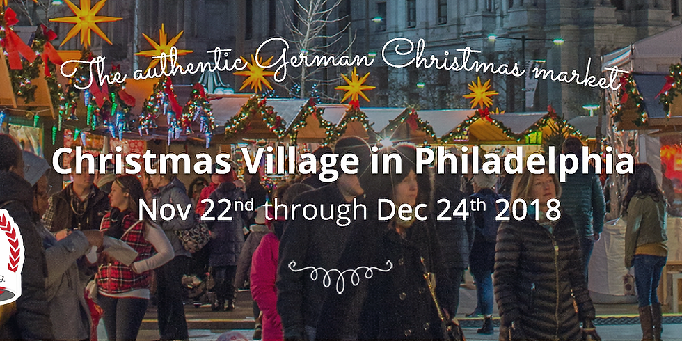 Christmas Village PREVIEW WEEKEND!!! (DOG FRIENDLY!)
