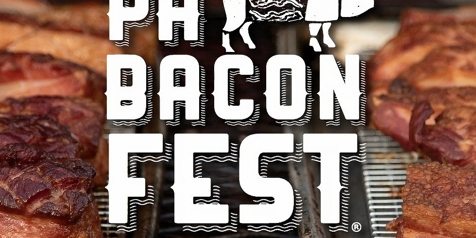 PA Bacon Fest (DOG FRIENDLY EXCEPT FOR TWO TENTS!)