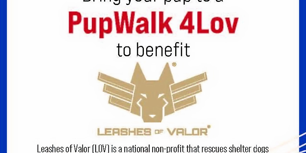 1st Annual Pup Walk 4 LOV Philly