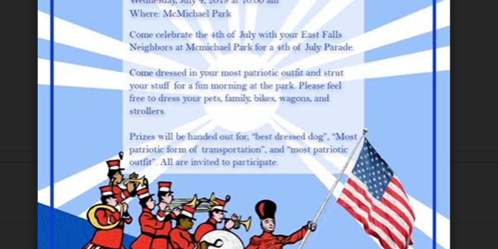 East Falls 4th of July Celebration!