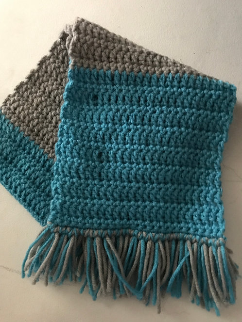 Hand-Crocheted Pet Scarves