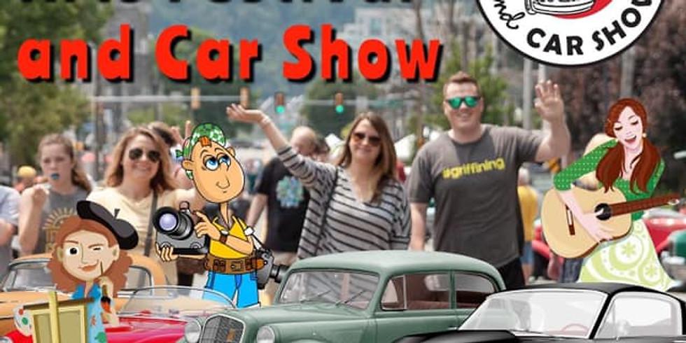 The Conshohocken Arts Festival and Car Show