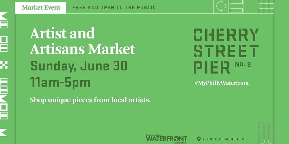 Artist & Artisan Market at Cherry Street Pier