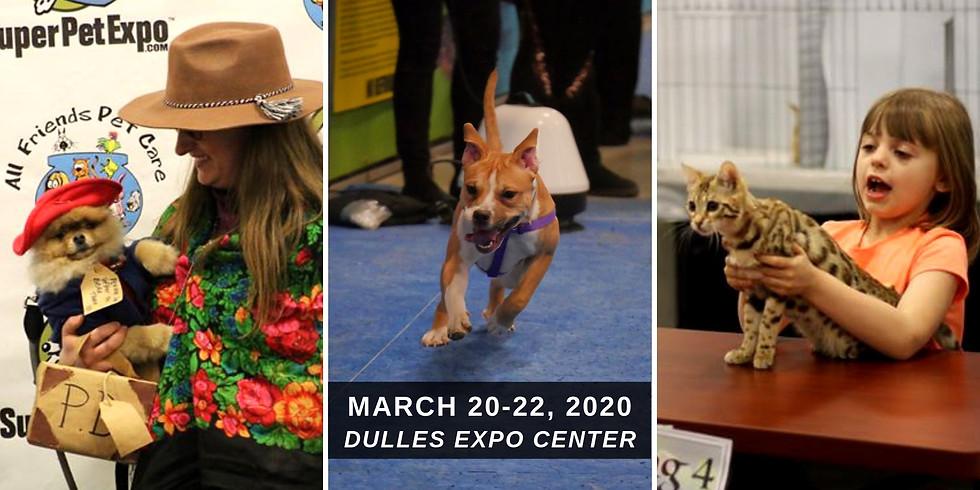 Super Pet Expo Chantilly 2020 (Pet Friendly!)
