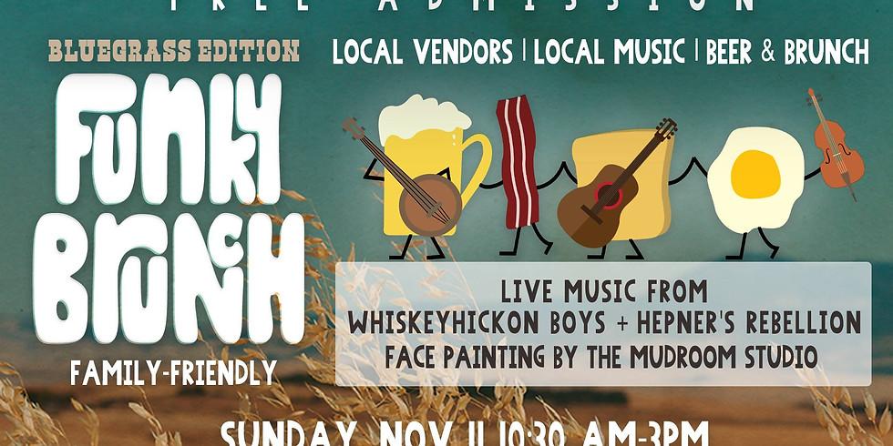 Funky Brunch & Market: Bluegrass Edition