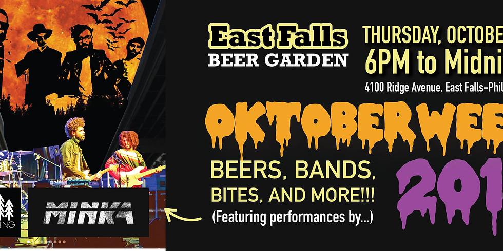 East Falls Beer Garden  (DOG FRIENDLY!)