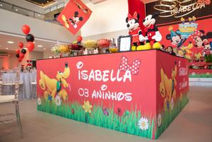 festa 3 aninhos Isabella
