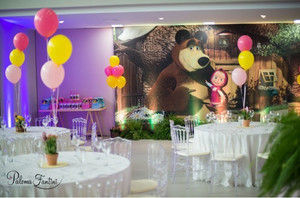 Festa Masha e o Urso da Antonella