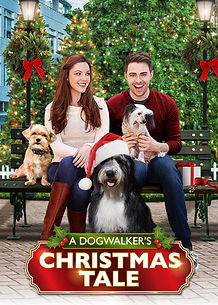 a dog walkers christmas tale movie poste