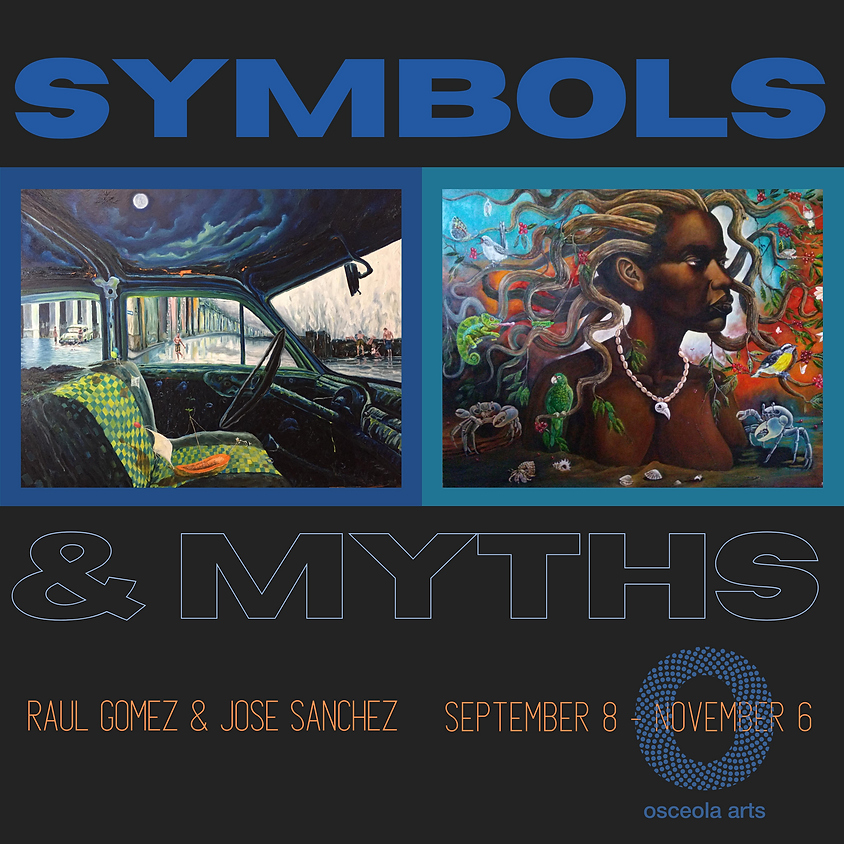 Symbols and Myths -the art of Jose Sanchez and Raul Gomez