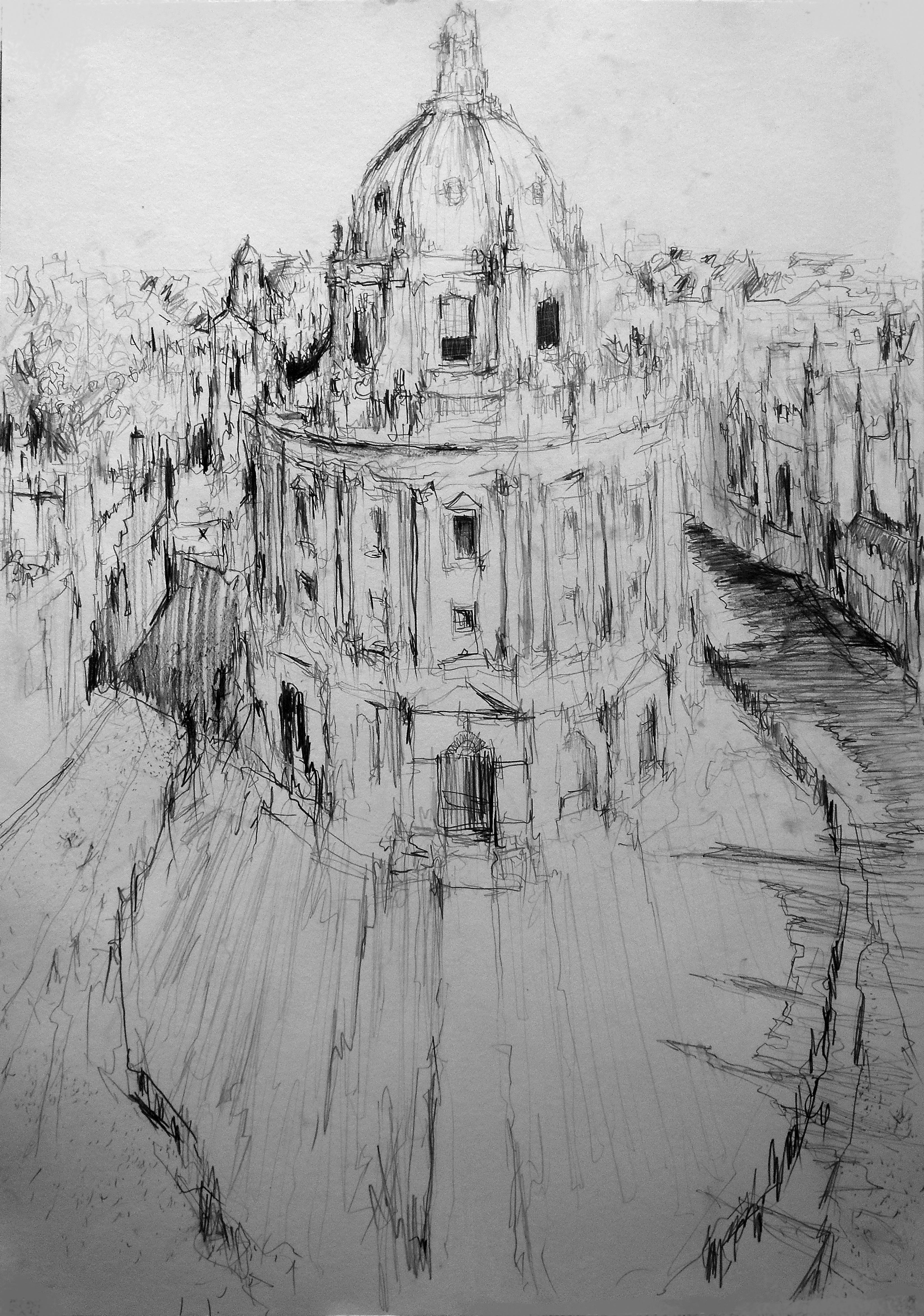 The Radcliffe Camera-ViewfromstMarys