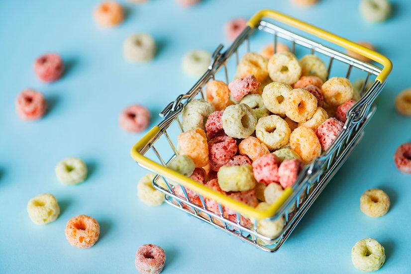 Fruit Circles Cereal