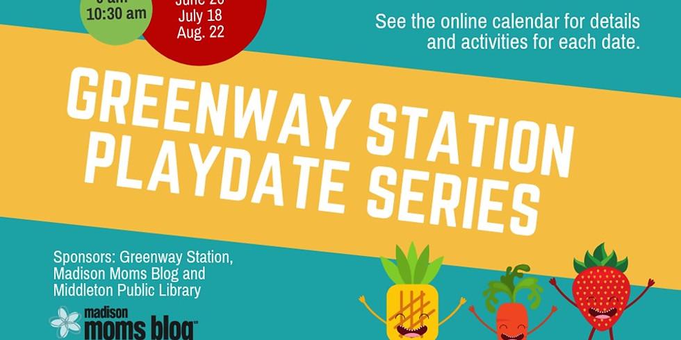 Greenway Station Farmer's Market Playdate Series