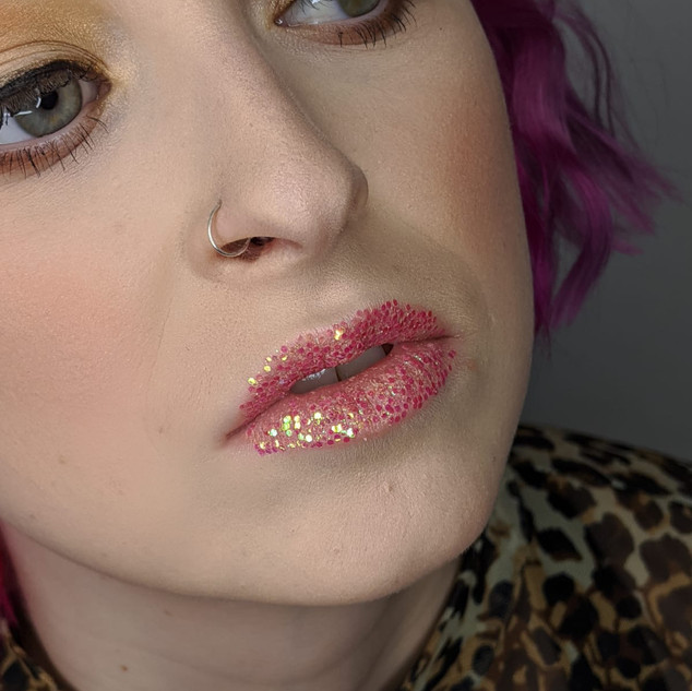 Glitter Lips - Photoshoot Makeup