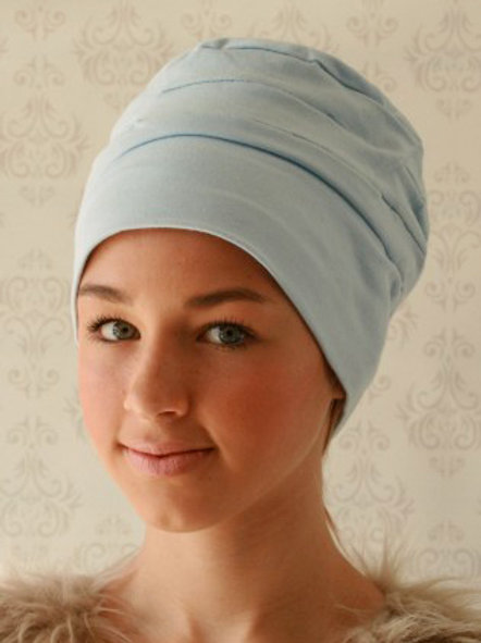 Loose Fitted Stretch Cotton Jersey Turban