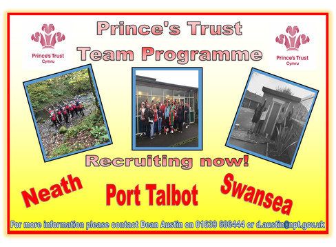 PRINCE'S TRUST - RECRUITING NOW!