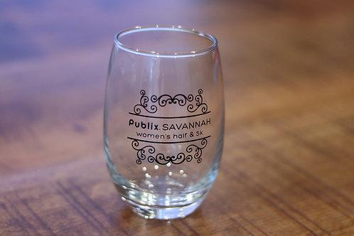 Logo Stemless Wineglass