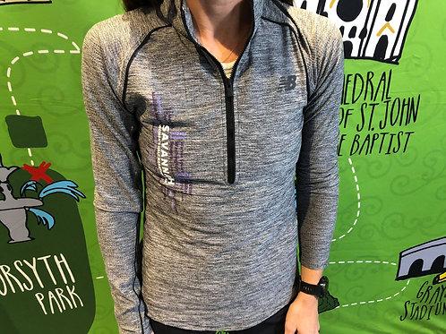 New Balance Transform Half Zip Long Sleeve